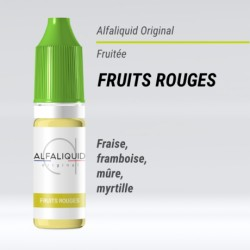 FRUITS ROUGES E-LIQUIDE ALFALIQUID ORIGINAL FRUITÉE