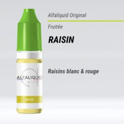 RAISIN E-LIQUIDE ALFALIQUID ORIGINAL FRUITÉE
