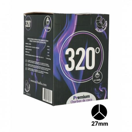 CHARBONS 320° DISC 3B XL 1KG