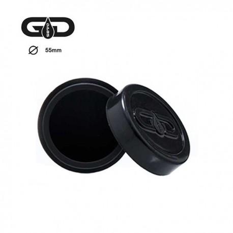 SILICONE JAR (black)