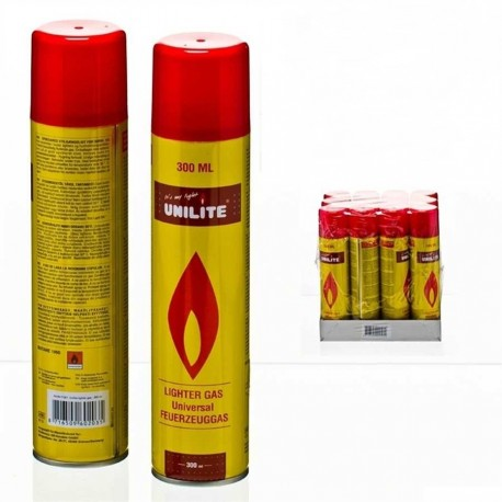 GAS LIGHTER REFILL (Recharge de gaz pour briquets)