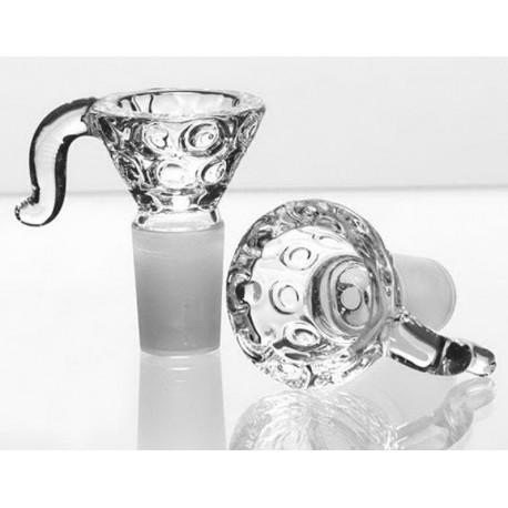 GLASS BOWL SOCKET - DIAMOND DETAILS