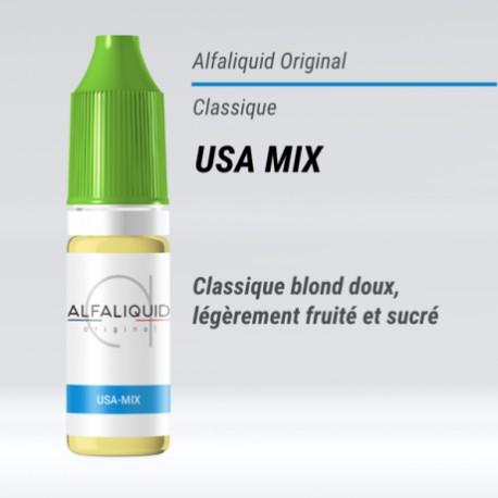 USA-MIX E-LIQUIDE ALFALIQUID ORIGINAL CLASSIQUE