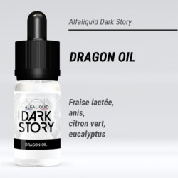 DRAGON OIL 50/50 E-LIQUIDE ALFALIQUID DARK STORY