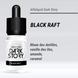 BLACK RAFT 50/50 E-LIQUIDE ALFALIQUID DARK STORY