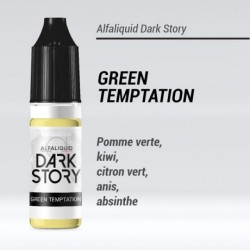 GREEN TEMPTATION 50/50 E-LIQUIDE ALFALIQUID DARK STORY