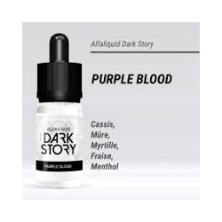 PURPLE BLOOD 50/50 E-LIQUIDE ALFALIQUID DARK STORY