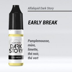 EARLY BREAK 50/50 E-LIQUIDE ALFALIQUID DARK STORY