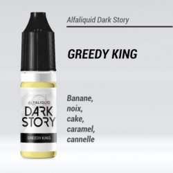 GREEDY KING 50/50 E-LIQUIDE ALFALIQUID DARK STORY