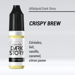 CRISPY BREW 50/50 E-LIQUIDE ALFALIQUID DARK STORY